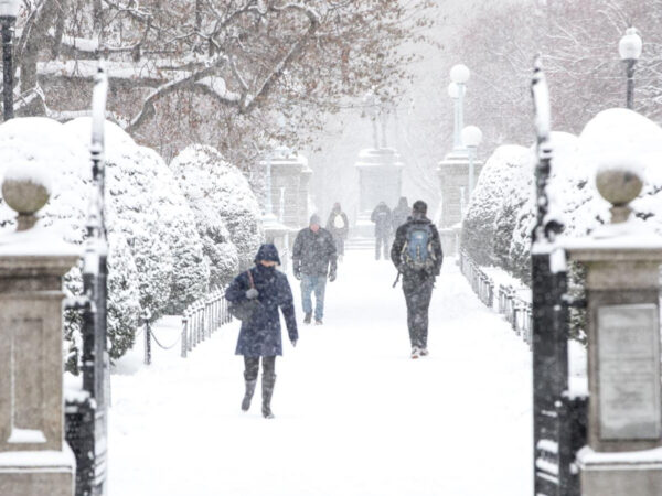 Una tormenta de nieve atrasa los planes de vacunación de Estados Unidos